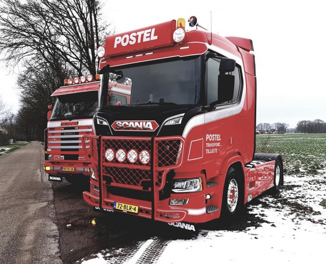 Scania R520 in gebruik genomen